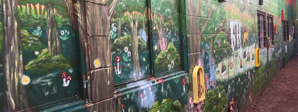 """""""Lorfolk Lane"""" Mural"""