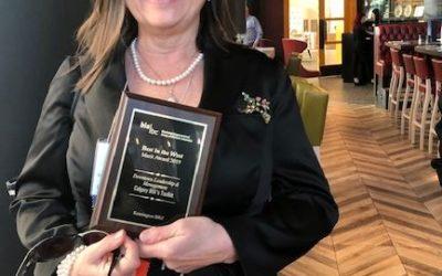 Kensington won an award!