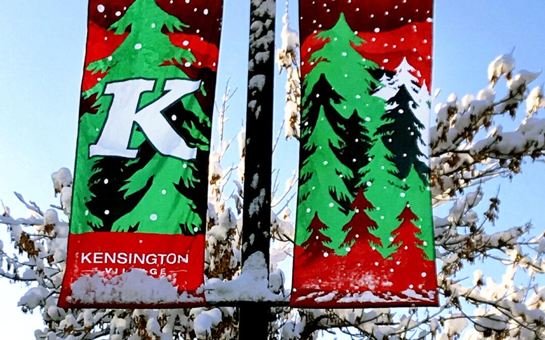 Kensington Streetlight Banners